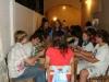 Durante la cena-todas las delegaciones