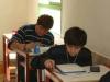Vivanco durante la prueba escrita